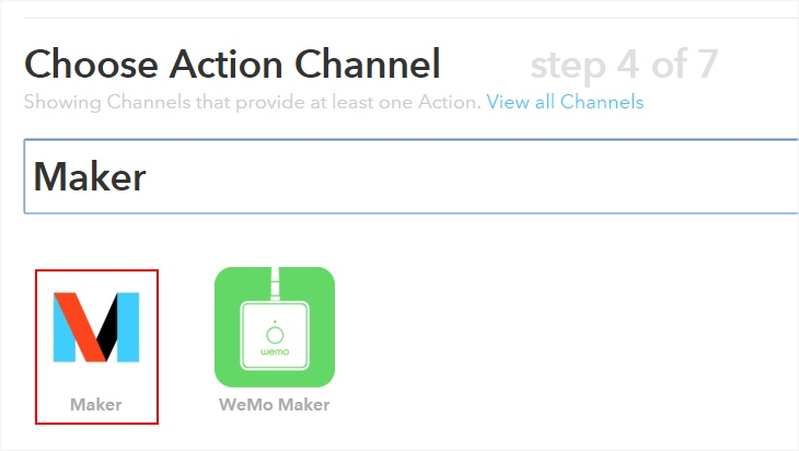 IFTTT: that - Maker
